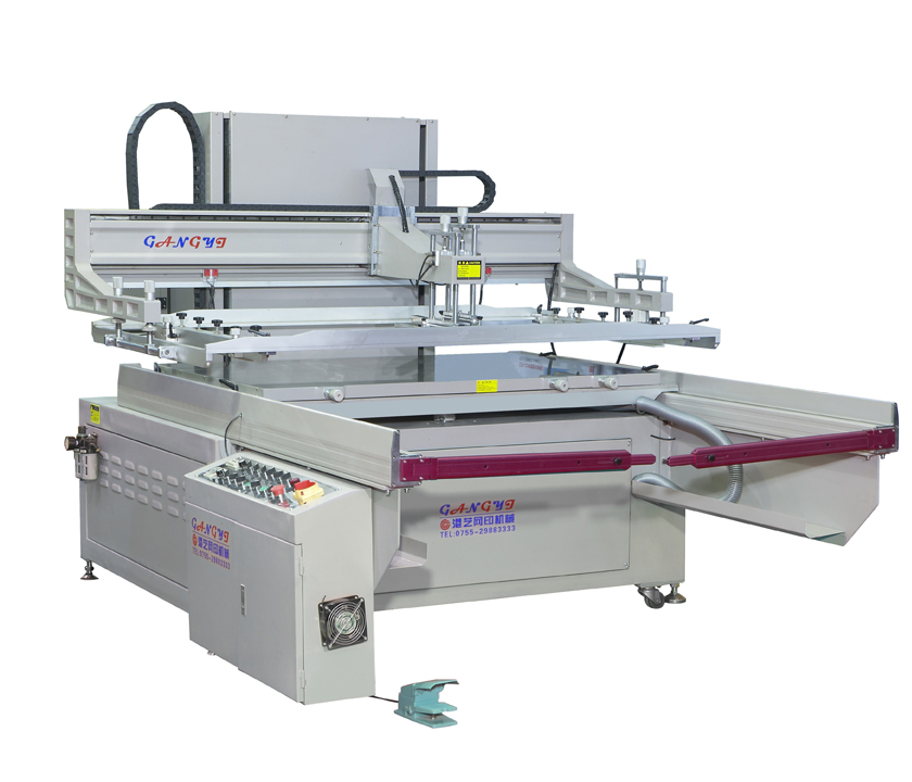 深圳高精密跑台式丝印机