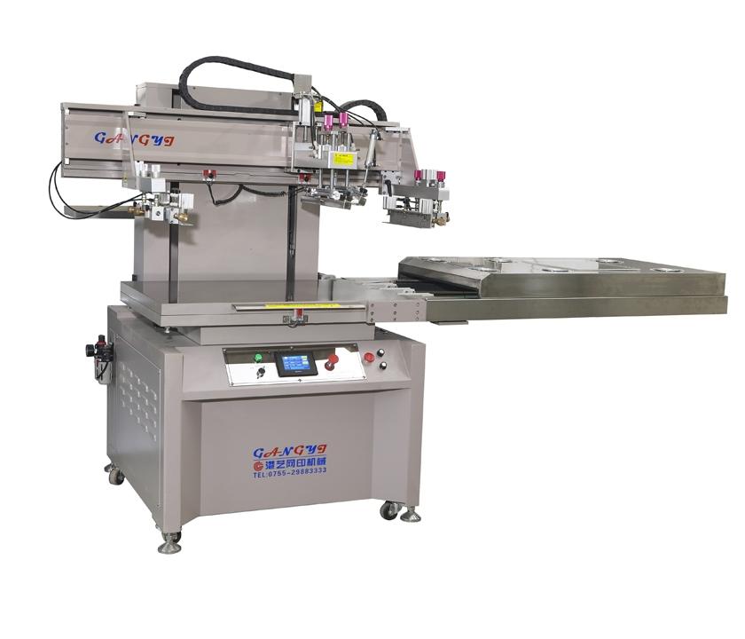 南山机械手丝印机