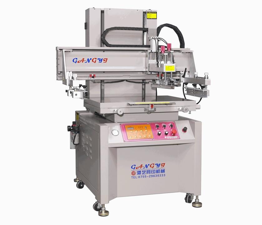 深圳高精密垂直式丝印机
