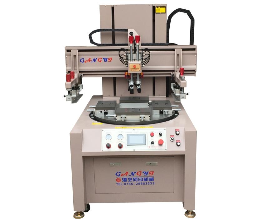 深圳高精密转盘式丝印机