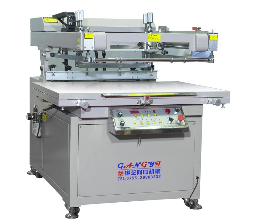 深圳斜臂式高精密丝印机