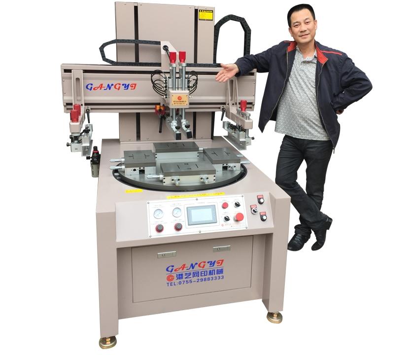 深圳高精密转盘式丝印机价格