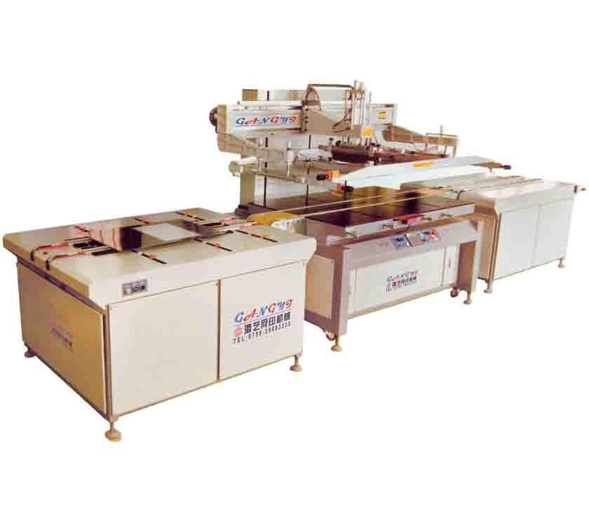 东莞全自动玻璃丝印机