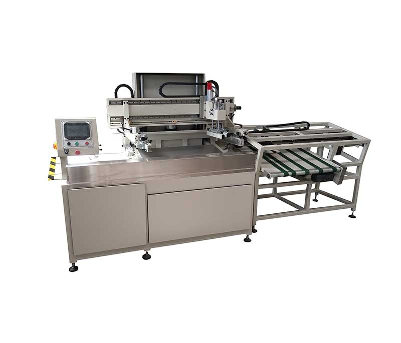南山全自动单张纸丝网印刷机