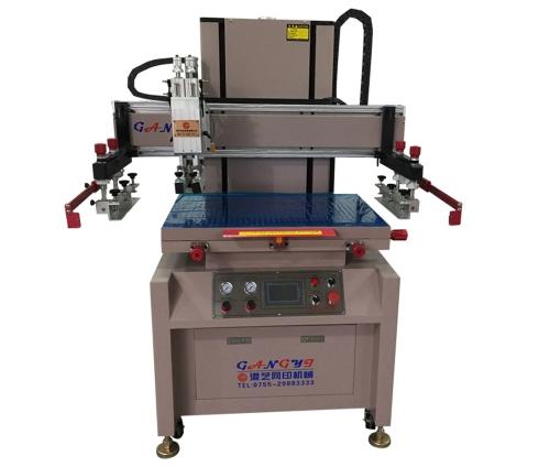 Double servo screen printing machine