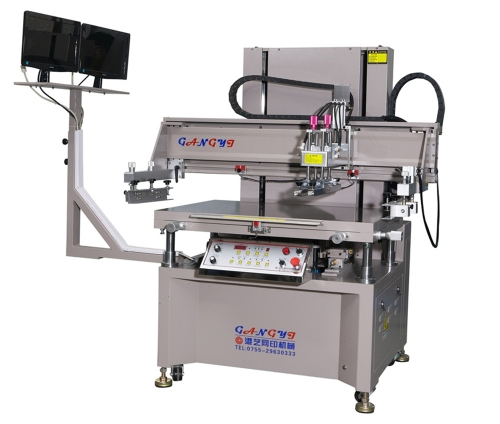 High precision CCD positioning screen printing machine manufacturer